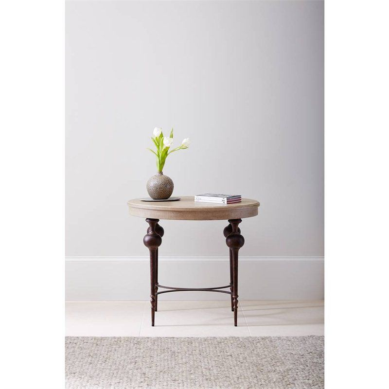 Villa Couture Adriana Lamp Table in Glaze - 510-25-13 - accent table  - Living Room - Stanley Furniture