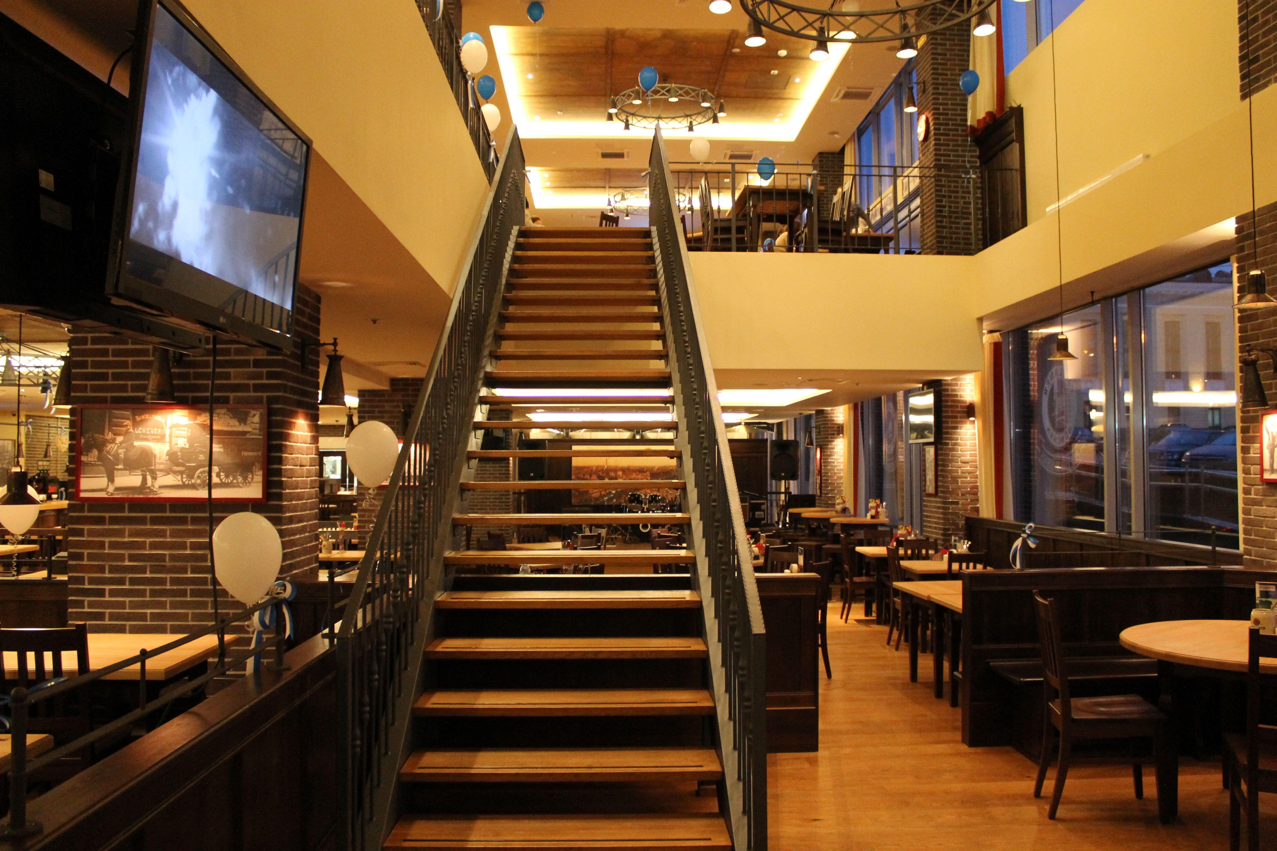 PAULANER Restaurant Petrozavodsk Russia. Design Norbert Schuch Munich