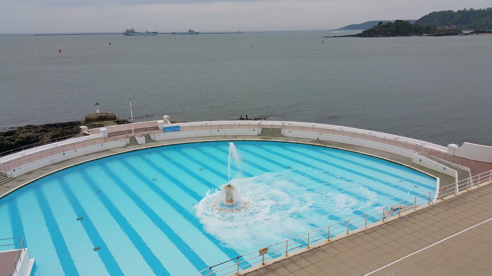 Plymouth Lido - opens late May