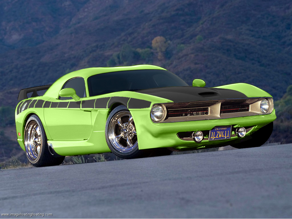 2013 Dodge Barracuda Dont care if it is photoshopped It looks