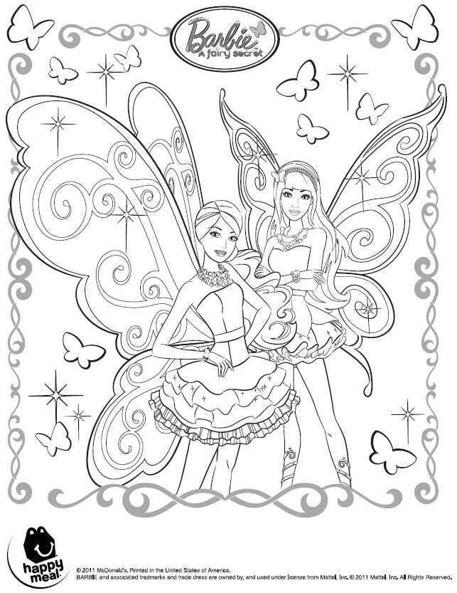 باربی كلاب Princess Coloring Pages Fairy Coloring Pages Fairy Coloring