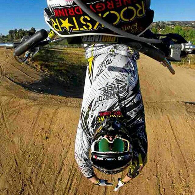 Motocross has no limits. No regrets.
