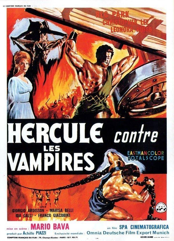 Great Movie Posters Hercules The Peplum Years  Movie Film