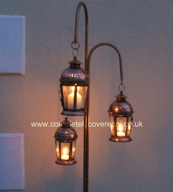Parish Mini Pedestal Lantern: Candle Stands & Lanterns, Candle Stands, Hanging Lanterns