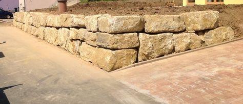 Garten ▫ Terrasse ▫ Außengestaltung ▫ Mauer ▫ Trockenmauer ▫ Verkleiden ▫  Gestalten ▫ Gartengestaltung ▫