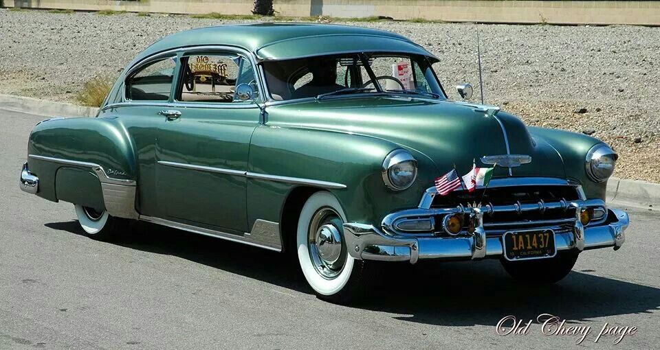 1952 Chevrolet Fleetline Deluxe 2 Door Sedan Chevrolet Chevy Chevrolet Corvette