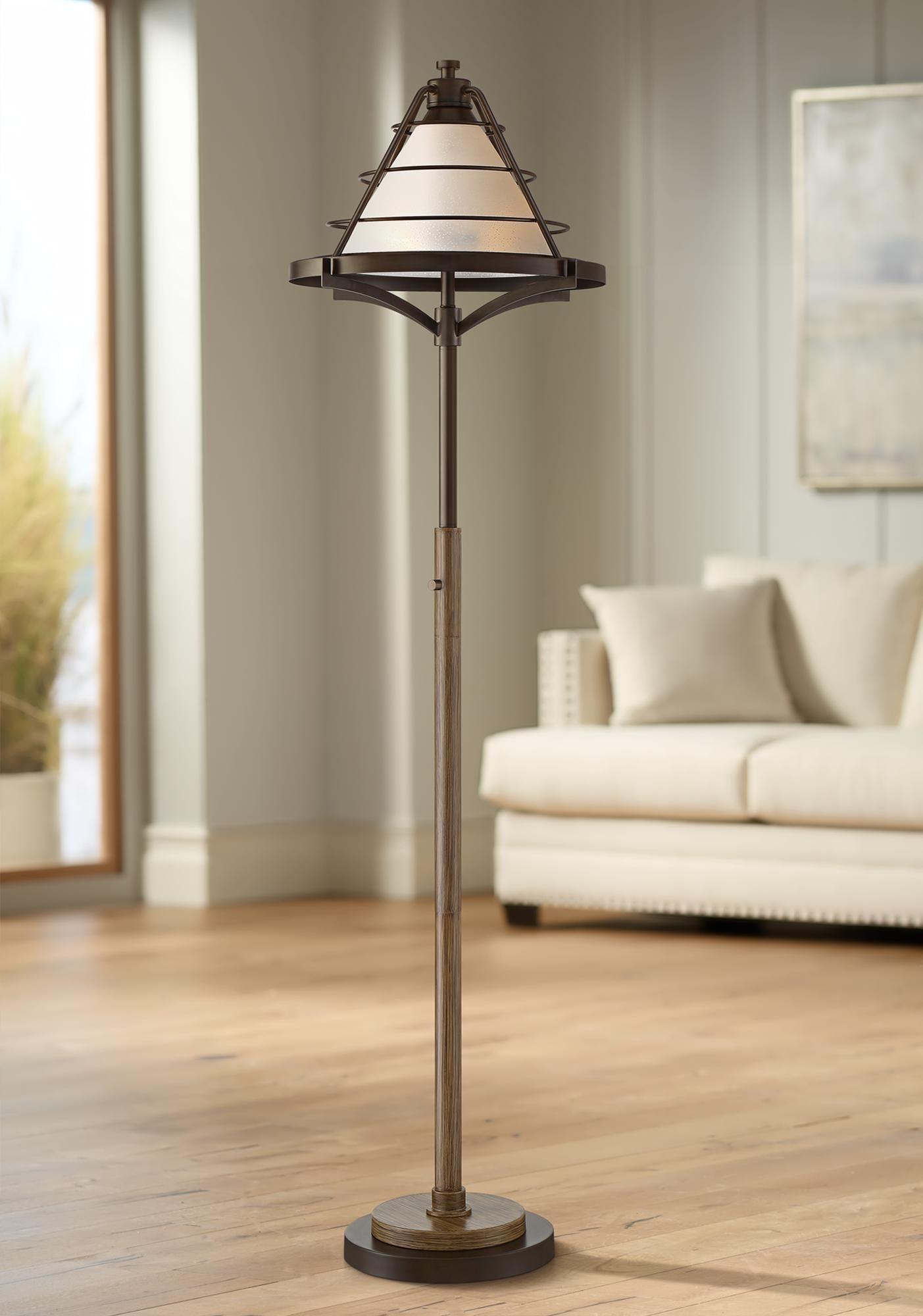 Franklin Iron Works Cheyenne Farmhouse Floor Lamp Di 2020