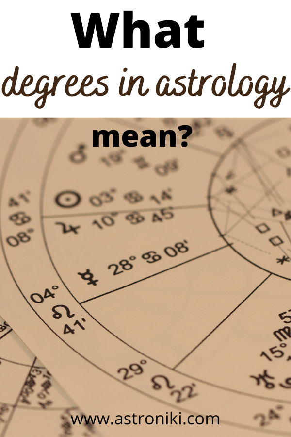 What does 22 degrees mean in astrology