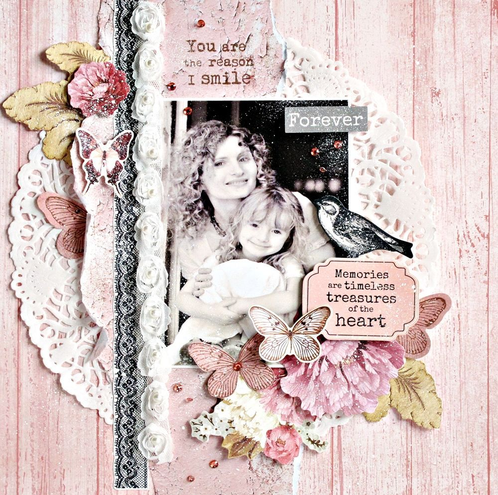 Inspired By The Ma Cherie Collection From Kaisercraft Available At Www Crafterspalette Shabby Chic Scrapbooking Scrapbook Crafts Wedding Scrapbooking Layouts