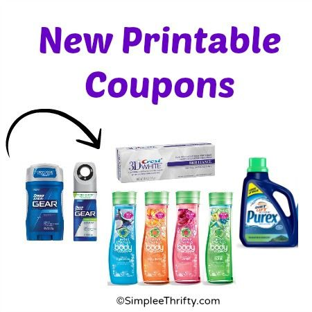graphic about Herbal Essence Printable Coupons named Printable Coupon codes: **PUREX RESET** Pace Adhere Devices, Crest