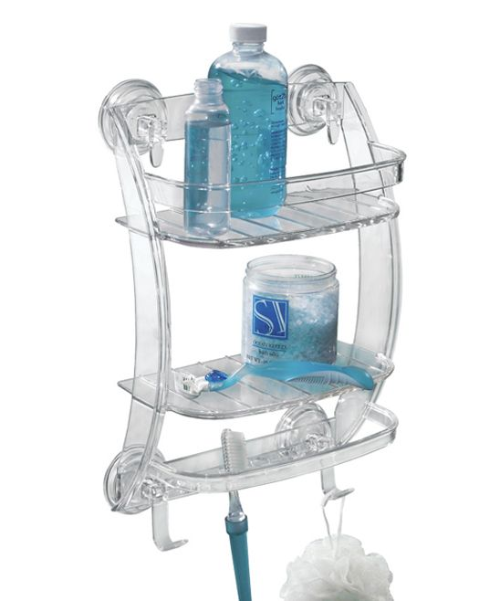 Power Lock Suction Two-Tier Shower Organizer | Products