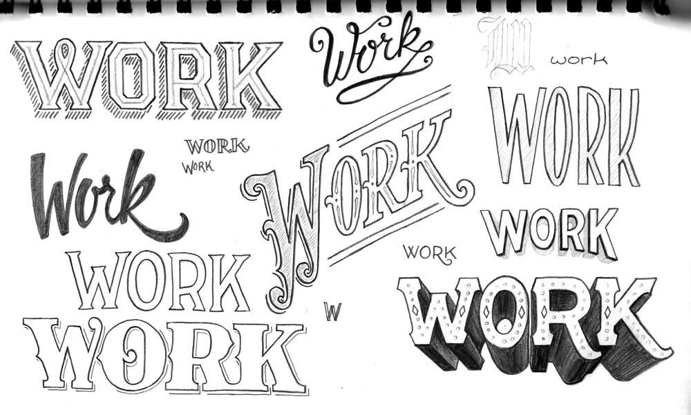 The First Steps of Hand-Lettering: Concept to Sketch - Project Gallery - Skillshare