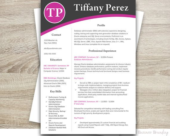 Resume Template Resume Cover Letter Template By Businessbranding Resume Cover Letter Template Cover Letter For Resume Cover Letter Template