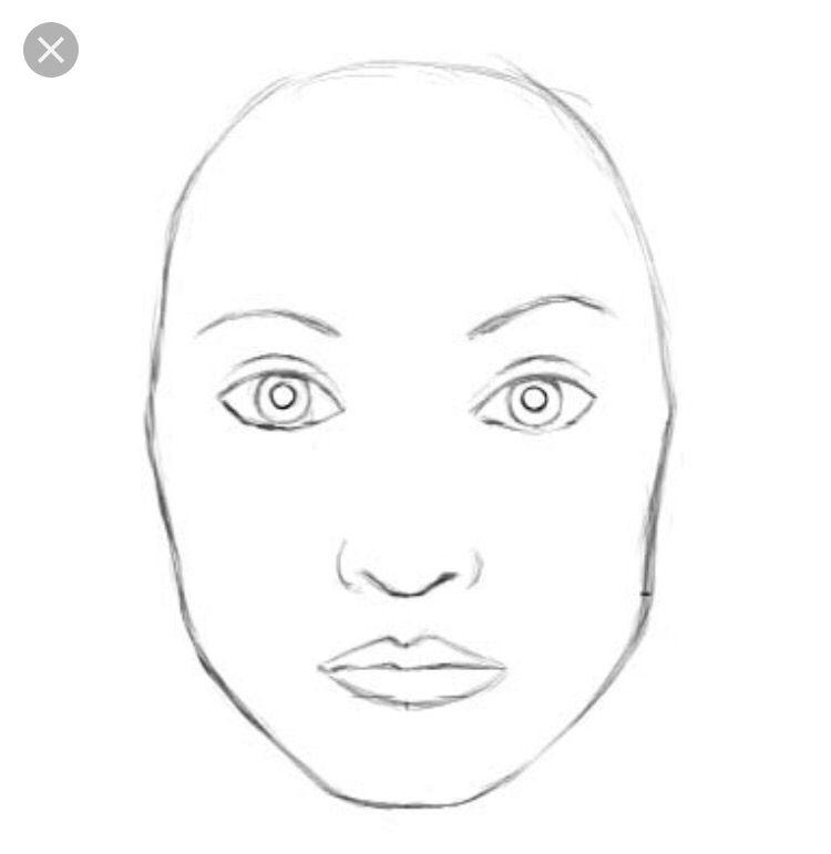 makeup outline