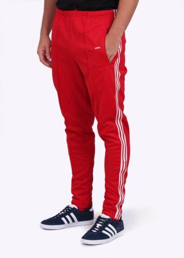 Adidas Originals Apparel Beckenbauer OG Track Pants - Scarlet Red