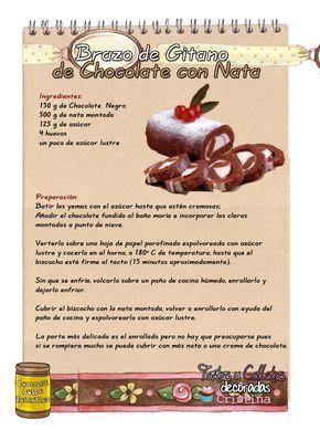 Tartas Galletas Decoradas Y Cupcakes Brazo De Gitano De