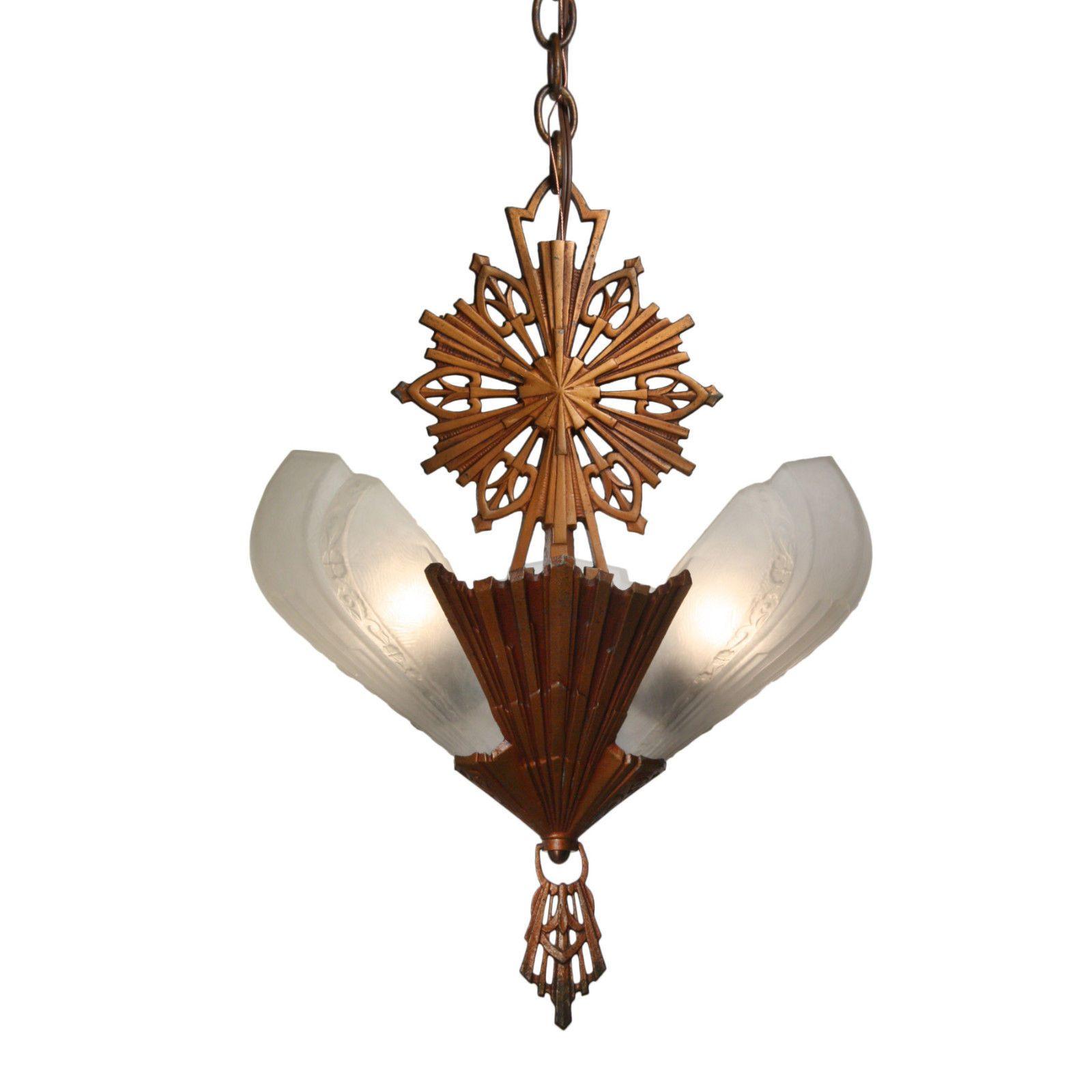 Antique art deco slip shade chandelier c1930 nc2642 ebay slip antique art deco slip shade chandelier c1930 nc2642 ebay arubaitofo Choice Image