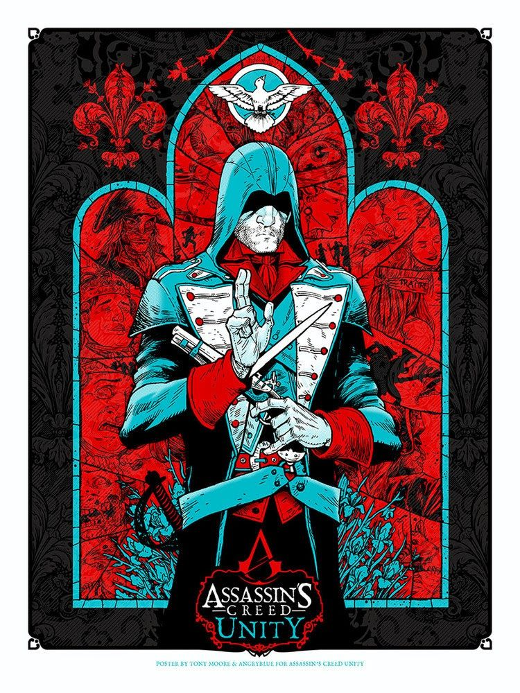 Assassin's Creed & Soundgarden Posters by AngryBlue Release Details