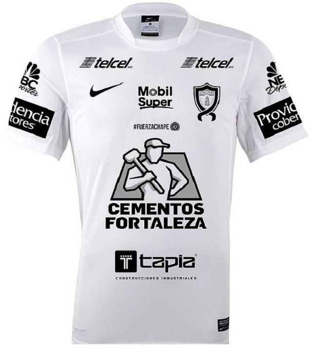 e96cd5111ae37 Camisa do Pachuca em homenagem à Chapecoense