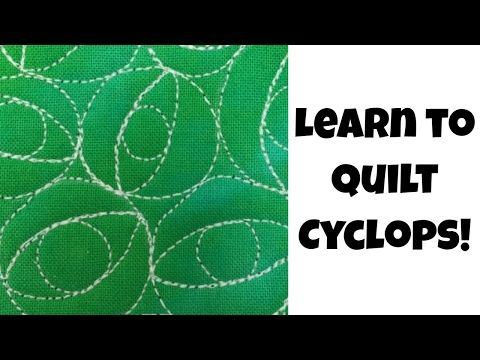 8 Beginner Machine Quilting Cyclops Quilting Tutorial 472 With Leah Day Youtube Quilting Tutorials Machine Quilting Free Motion Quilting Patterns