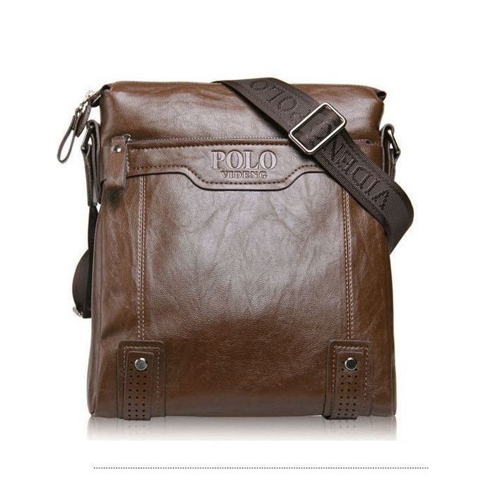 Men Bag, Shoulder Vintage Silt Pocket Handbags