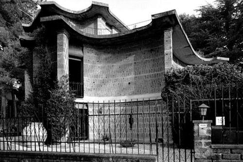 Baldi Wall: Paolo Portoghesi - Baldi House, Rome, 1960