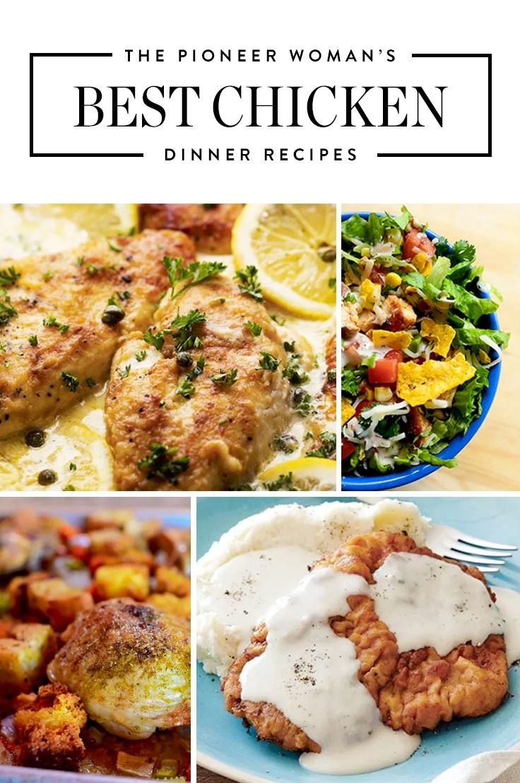The Pioneer Woman S Best Chicken Recipes Pioneer Woman Recipes Dinner Food Network Recipes Pioneer Woman Pioneer Woman Recipes Chicken