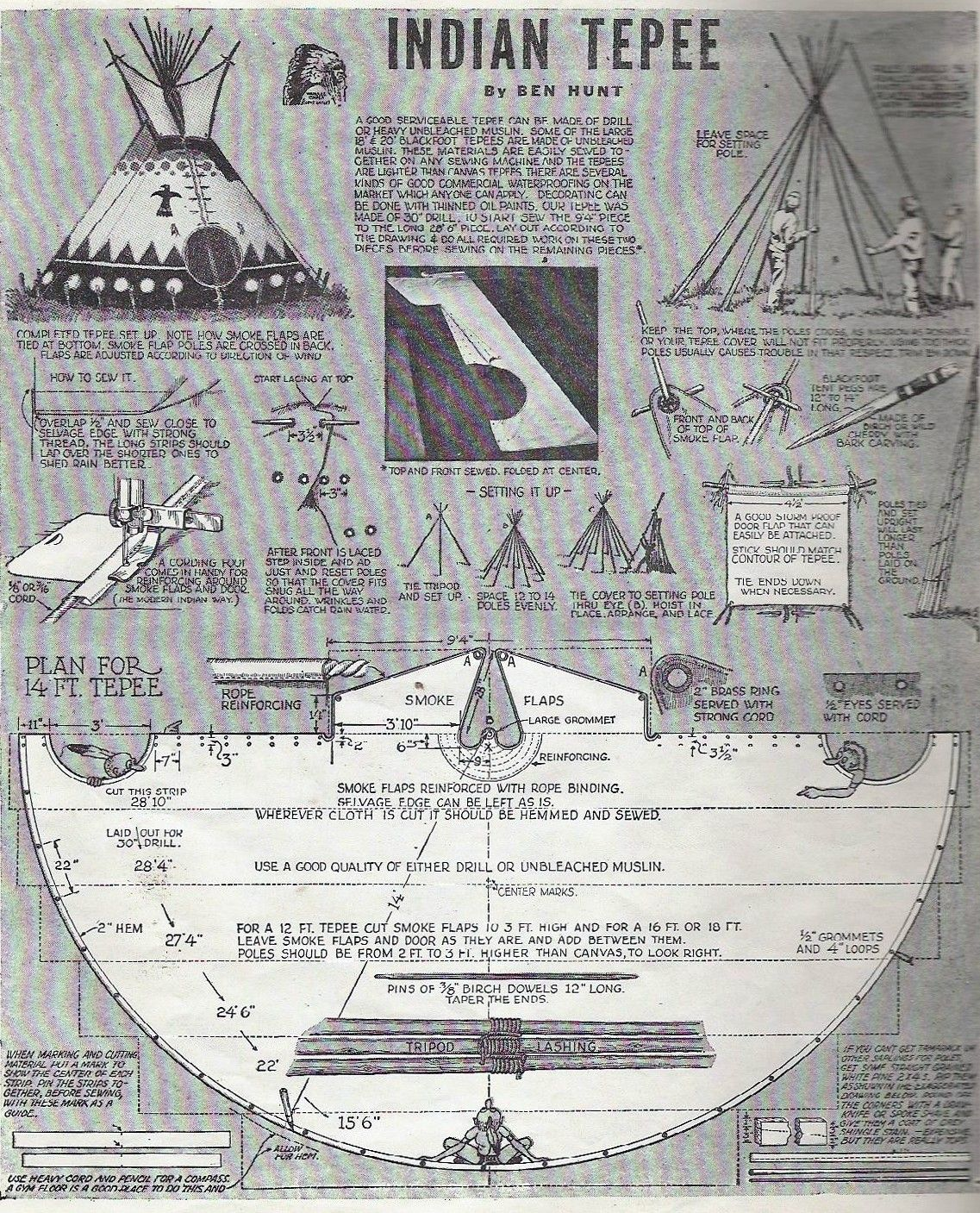 Information & Facts on Teepees Native american teepee