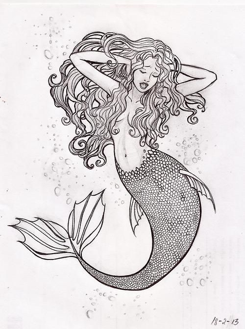 mermaid | Mermaid art | Pinterest | Dibujos tiernos de amor, Tiernas ...