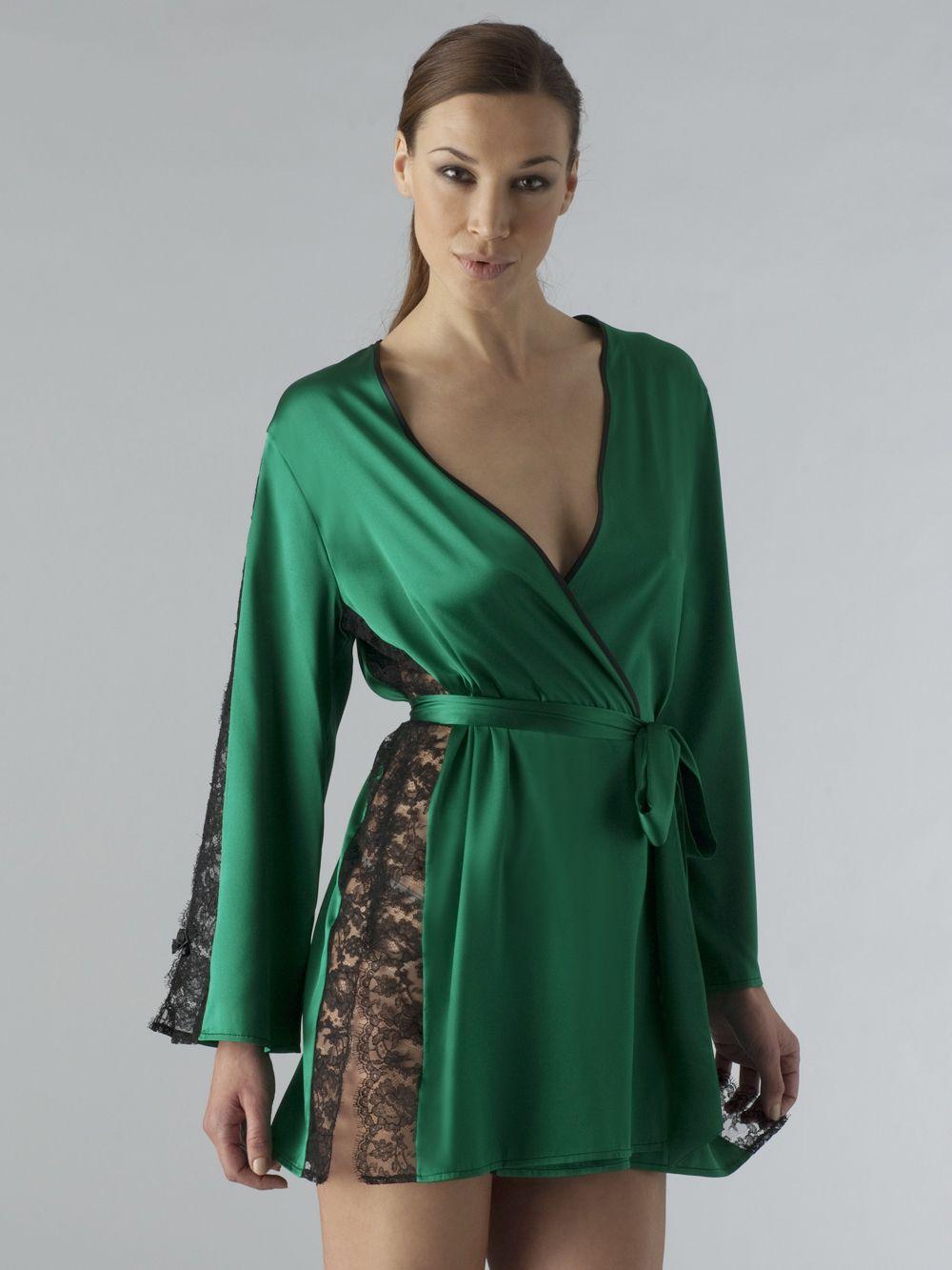da883411813c Luxurious silk robe. Every woman needs one
