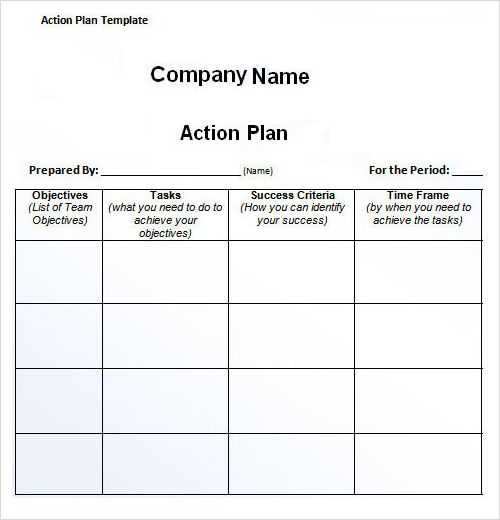 galleryhip/action-plan-template-wordhtml Back to