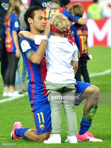 Celebrities Attend Barcelona v Alaves - Copa del Rey Final ...