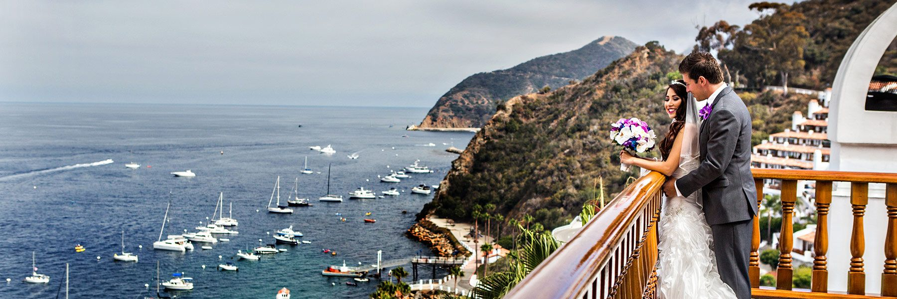 Catalina Island Weddings and renewals are breathtaking