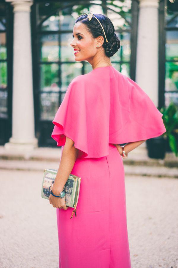 Look para una boda de tarde en verano | Vestidos largos rosados ...