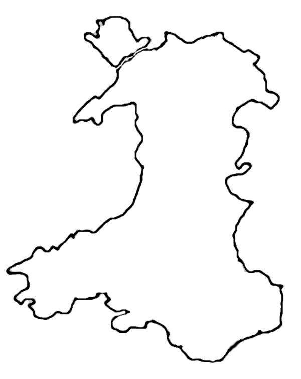 Wales Map Outline  Tattoo  Pinterest  Wales map and Tattoo