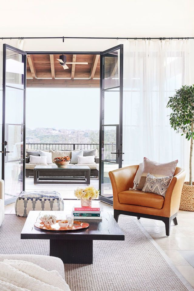 50+ Inspiring Living Room Ideas | Sheer curtains, Living rooms and ...
