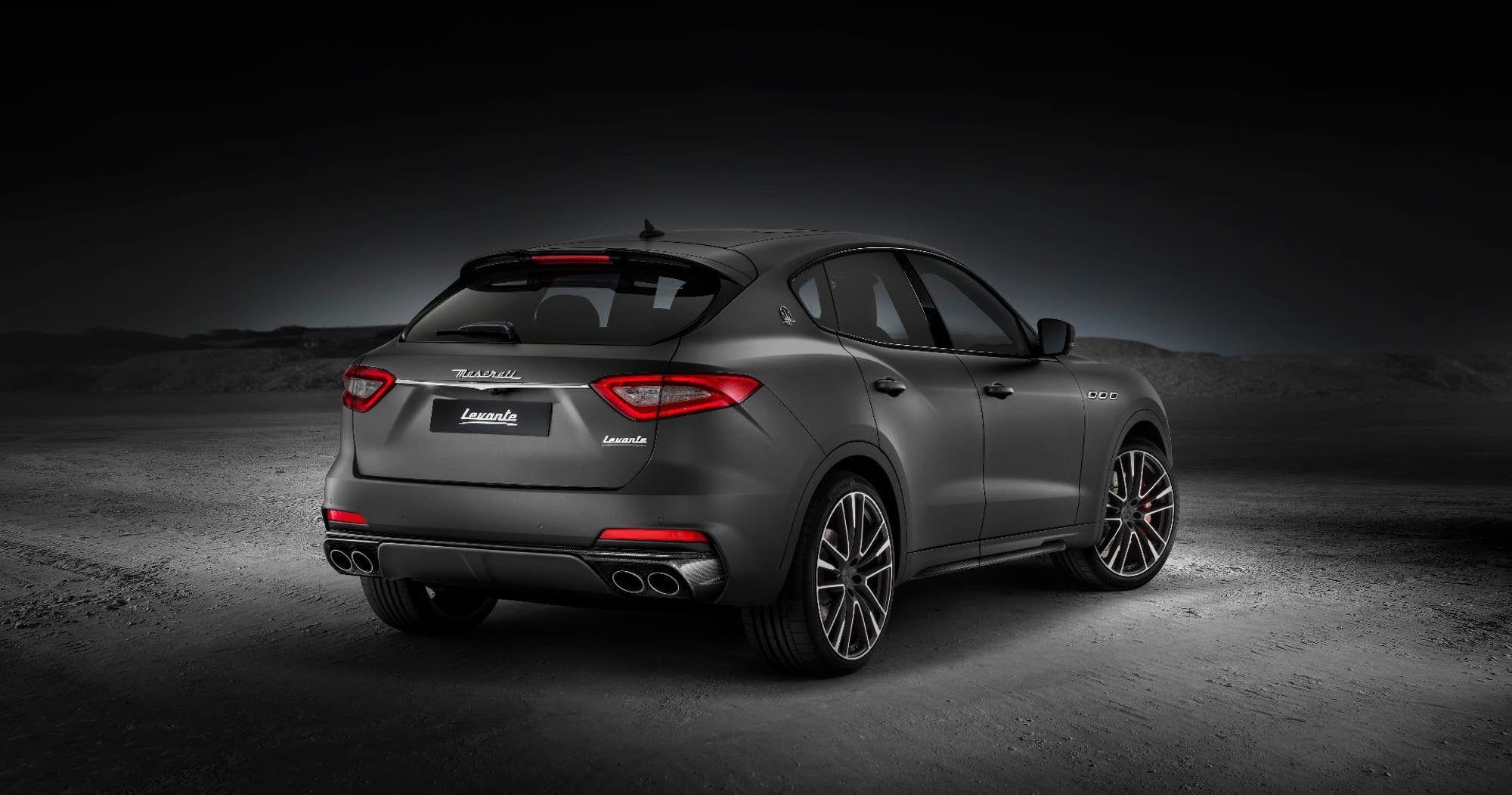 Maserati Levante Trofeo Rises To The Upper Echelons Of The