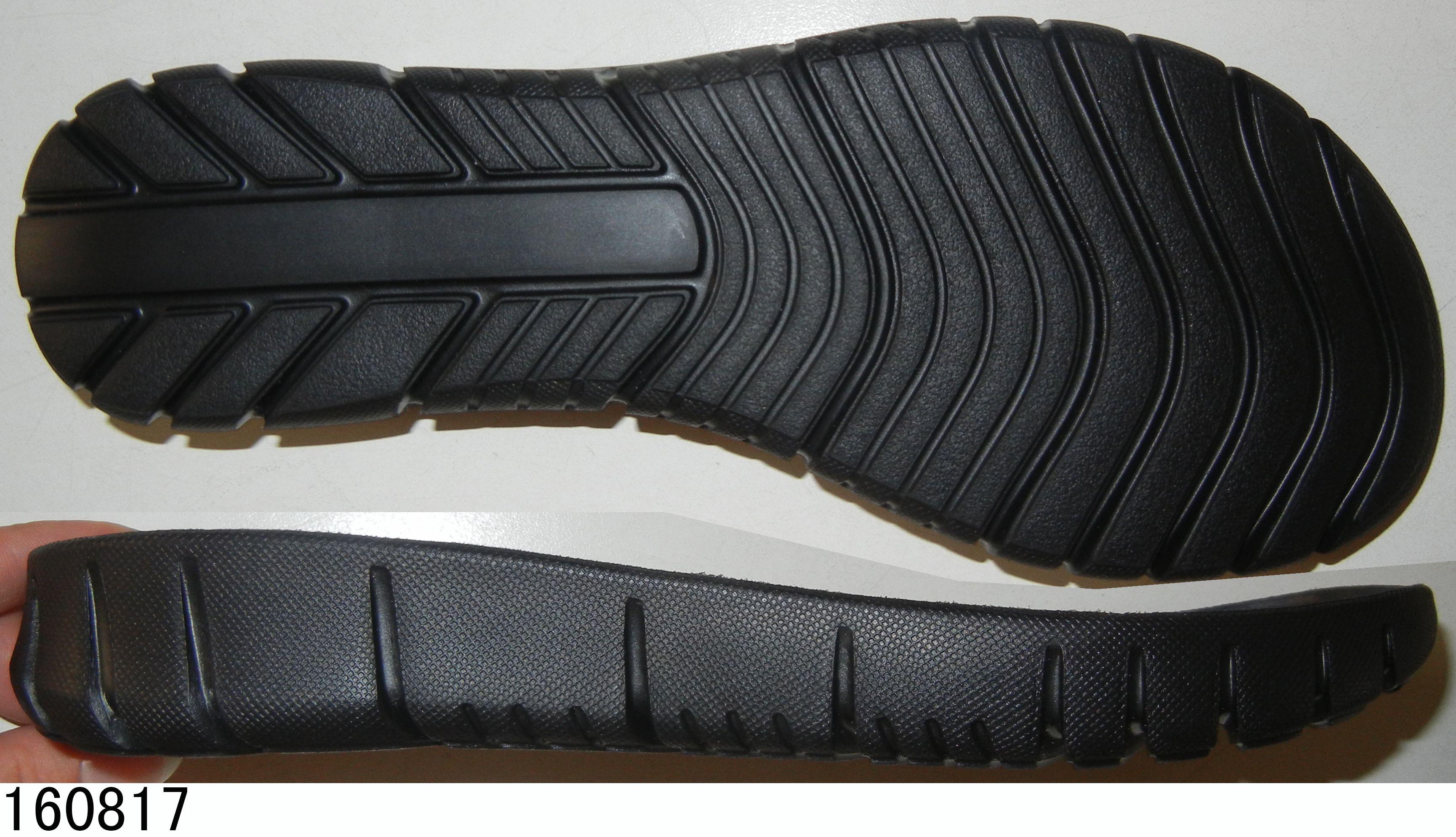Rubber Sheet Shoe Sole Manufacturer Rubber Shoes Black Sports Shoes High Quality Shoes