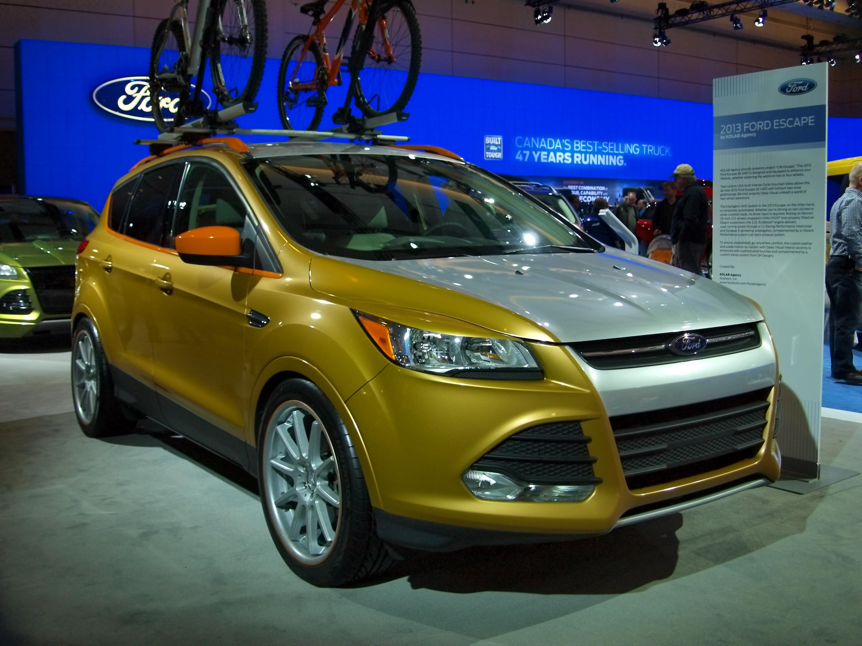 Ford escape compact suv model