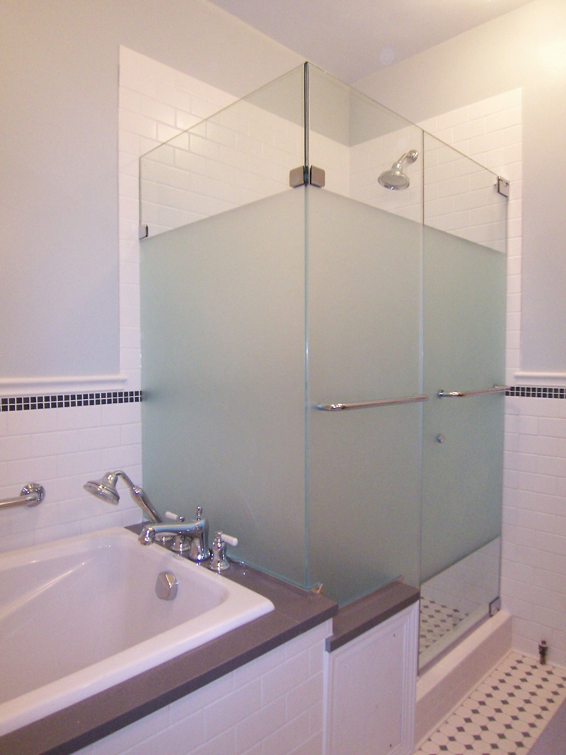 shower privacy dimensions with marie glass portfolio in etched doors