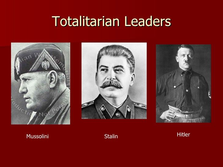 comparison hitler and stalin totalitarianism regimes Hitler was worse, because his regime propagated the unprecedented  this  confidence about the difference between the two regimes—quality.