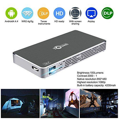 Mini Pico Projector HD DLP Projector hdmi 1080p Portable