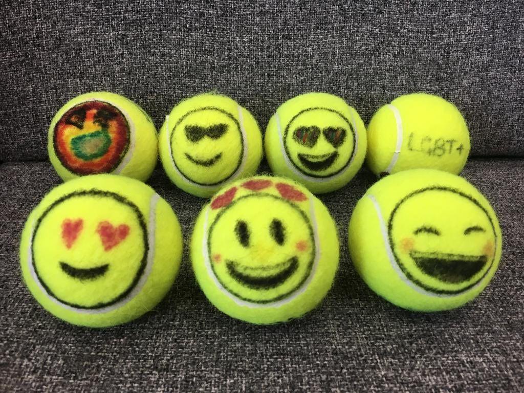 Funny Tennis Balls Ideas Tennis Balls Tennis Tennis Art