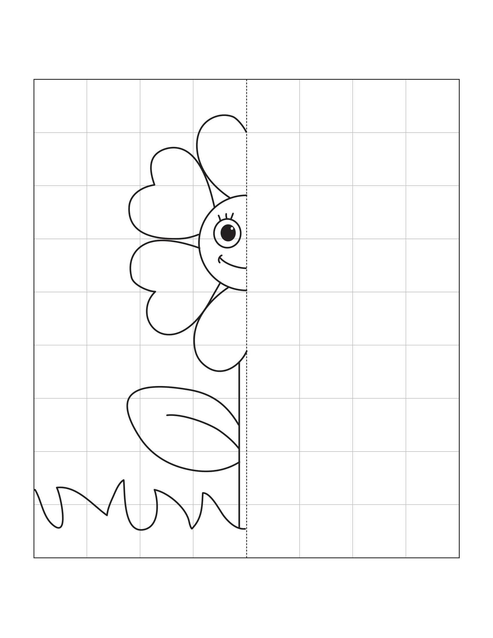 Simetri Etkinlikleri Cal Ma Sayfas Cicekler