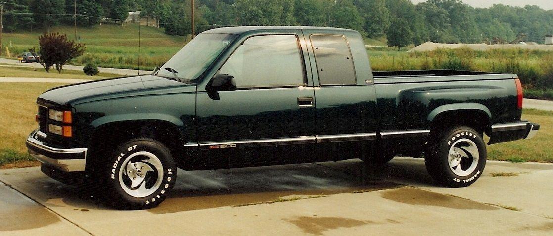 1995 GMC Sierra Extended Cab truck, purchased new in 1995