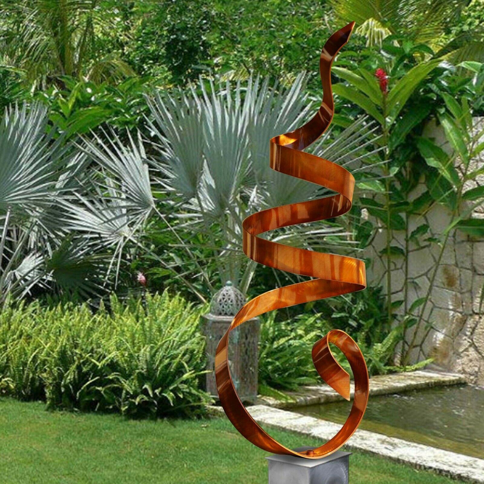 Extra Large Metal Sculpture Modern Copper Indoor Outdoor ...
