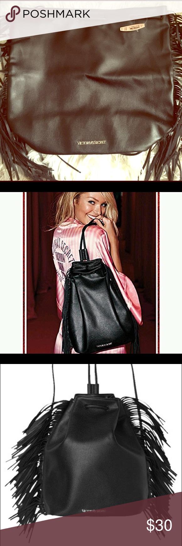 Victoria secret fringe backpack Límited edition, fashion show backpack, Brand New!!!! PINK Victoria's Secret Bags Backpacks