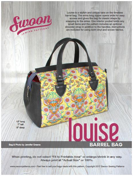 Louise Barrel Bag | bags - Taschen | Pinterest | Taschen nähen ...