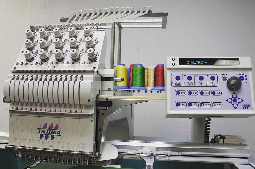 Tajima Tmex C 1501 Id1226 Looking For Commercial Embroidery