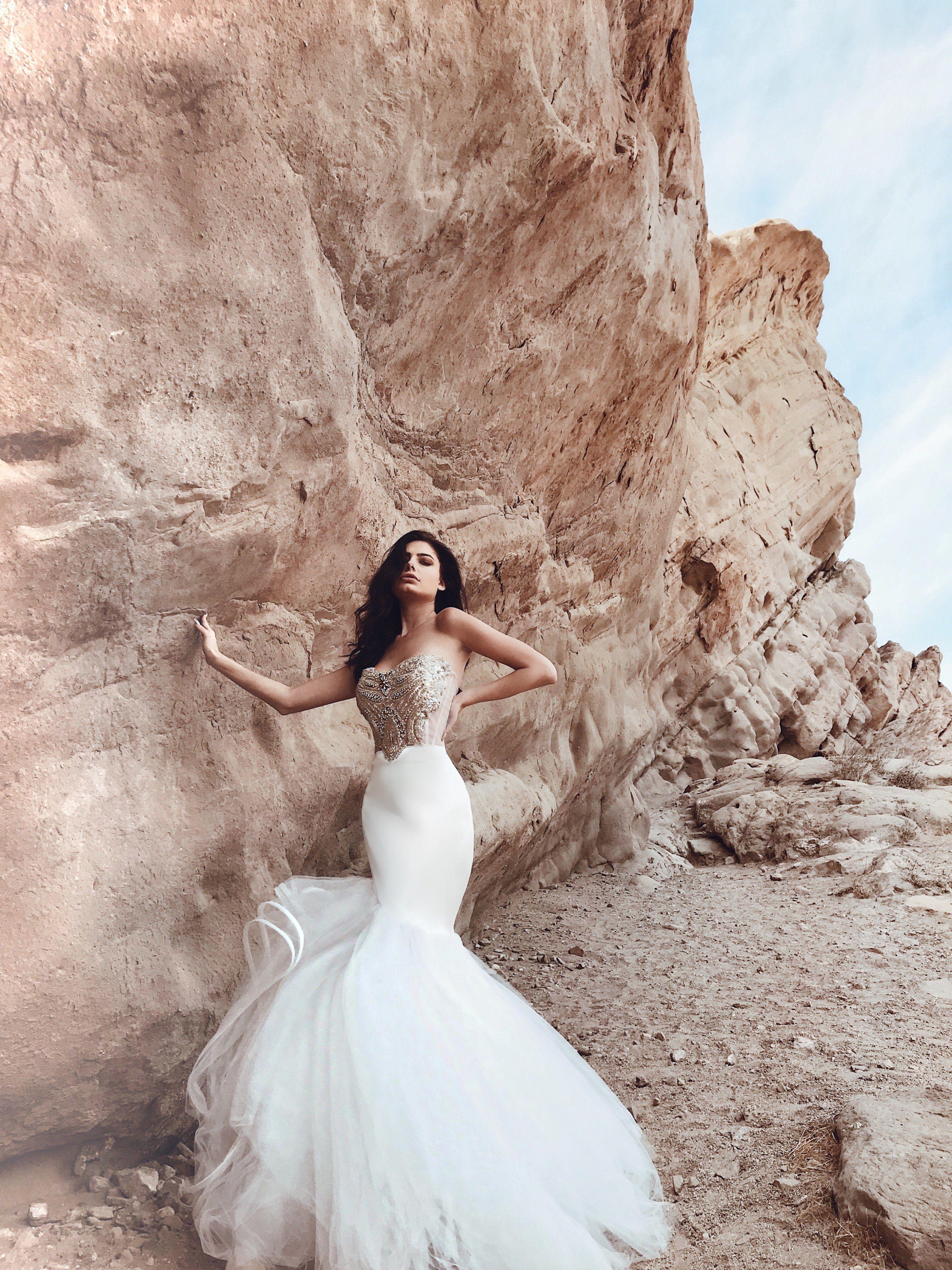 Solstice Wedding Gowns Mermaid Crystal Wedding Dresses Customizable Wedding Dress [ 4095 x 3072 Pixel ]